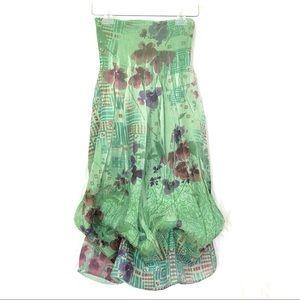 NWOT LAPIS Anthro Boho Floral Tube Dress/Skirt